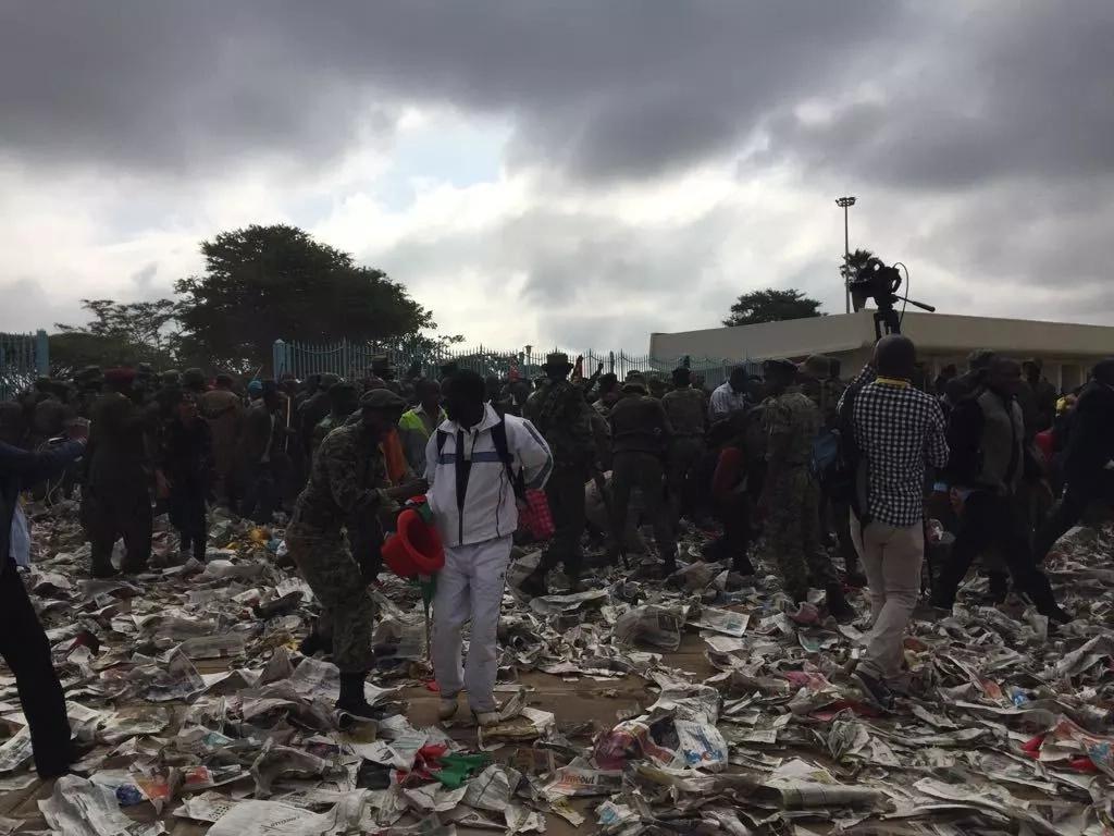 raw sewerage dumped at jacaranda grounds