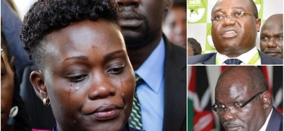 IEBC promises to act after Msando's wife pleaded with the electoral body to help her family