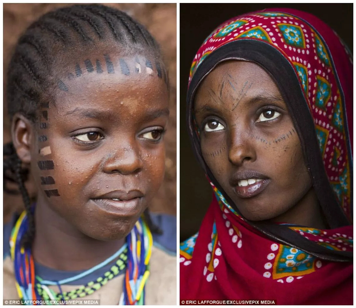 See girls as young as 12 cut with razors to make them beautiful (photos)