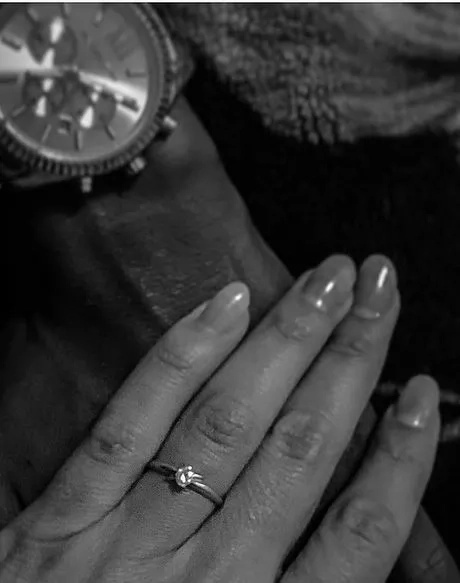 rapper Octopizzo engages long-time lover with a hot silver ring