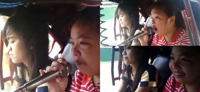 Only in the Philippines! This Pinay tricycle passenger belts hit song in viral video