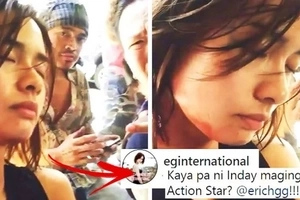 Hindi na niya kinaya! Erich Gonzales caught on video falling asleep during shooting of her new action movie!