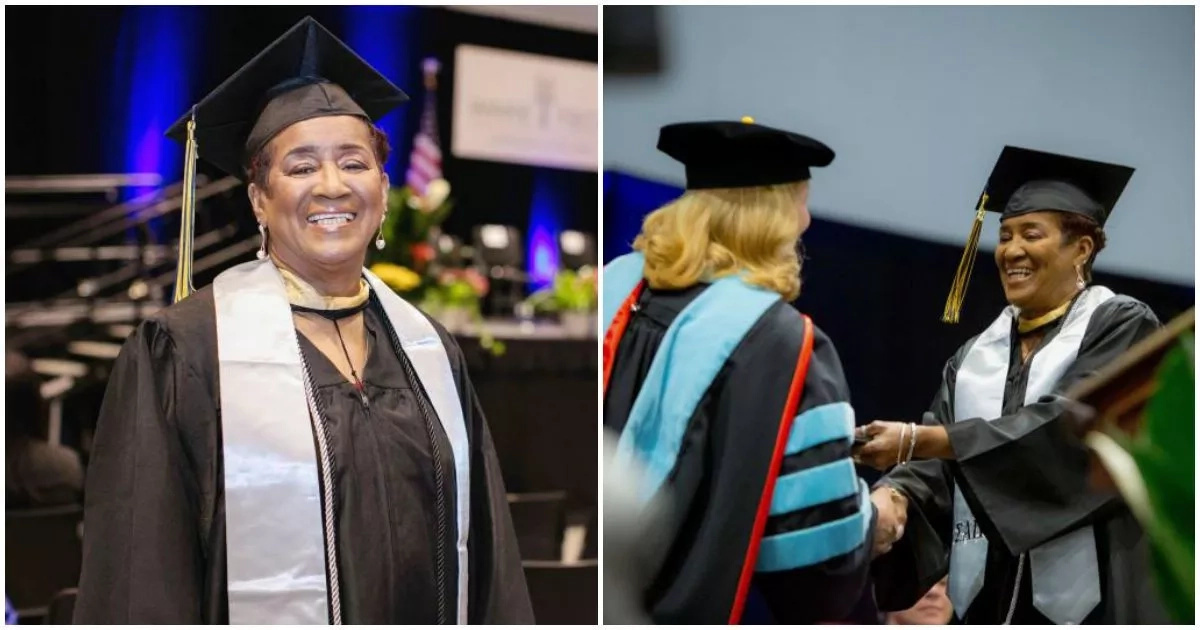 Meet 70-year-old great-great-granny who graduates with degree (photos, video)