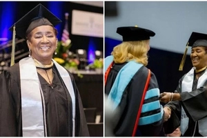 Never too old! Joy as great-great grandmother, 70, GRADUATES with degree (photos, video)