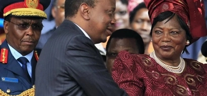7 beautiful photos of President Uhuru Kenyatta with his mother, Mama Ngina