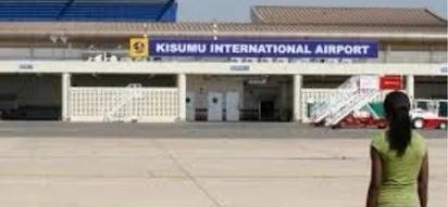 Security scare as man fires gun at Kisumu airport