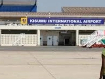 Security scare as man fires gun at Kisumu airport