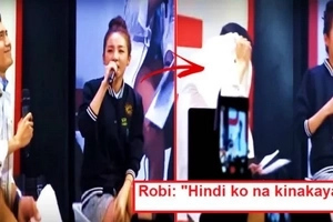 Ang bilis mag move-on? Robi Domingo gets super kilig moment as Sandara Park describes her ideal man during interview! Watch it here!