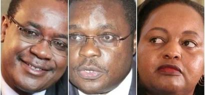 """Huu ndio uamuzi wa IEBC kuhusu wanasiasa wa Jubilee na NASA """"waliofungiwa"""" nje ya uchaguzi"""