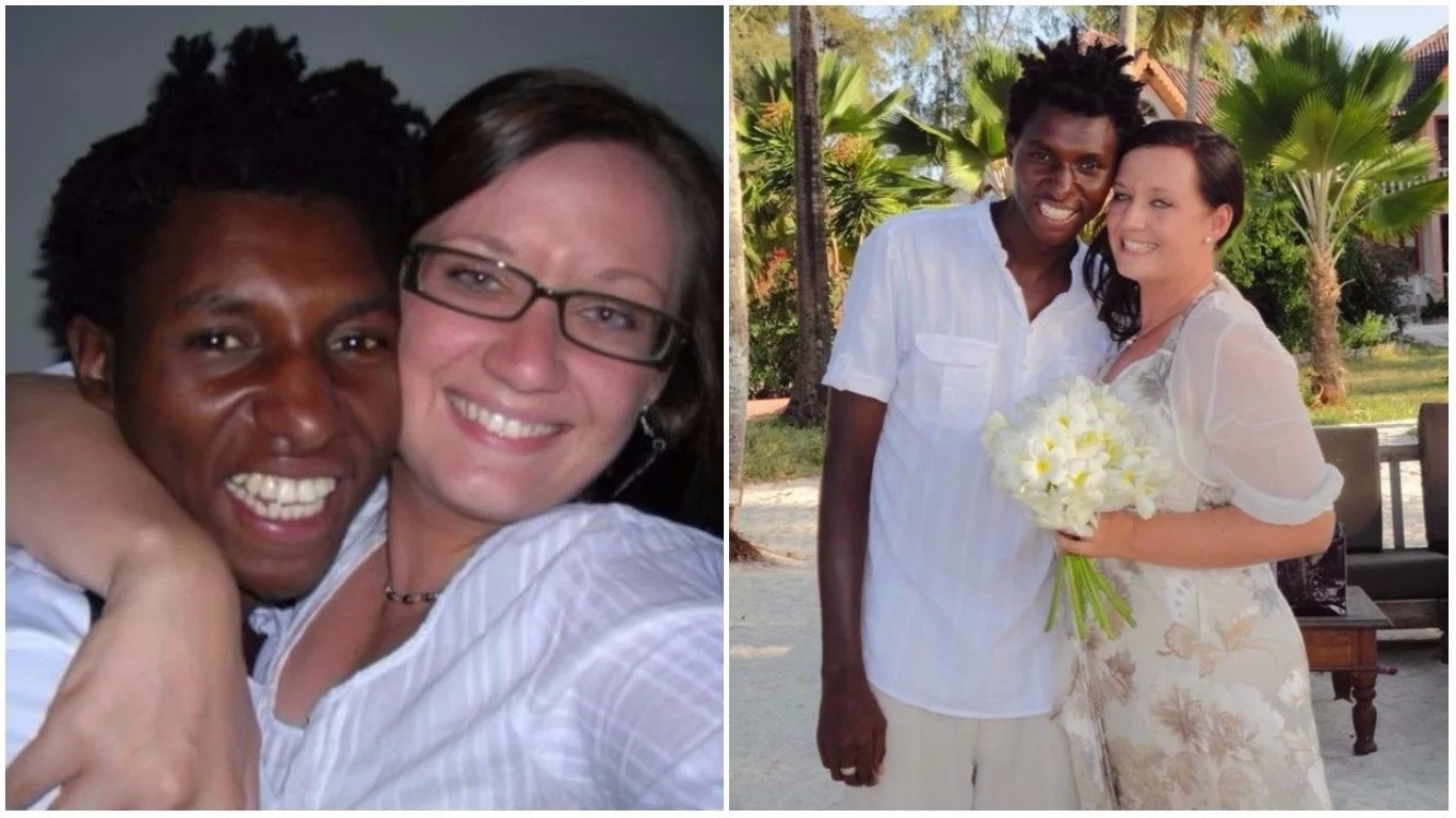 Reagan and Hayley met and fell in love in Tanzania. Photos: Daily Mirror