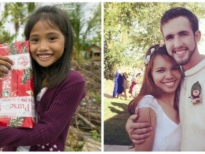 Tadhana nga naman! Pinay receives a Christmas box from an American boy in 2000. 14 years later, they decided to get married