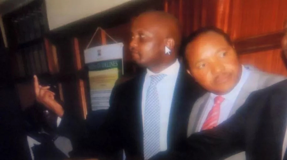 Moses Kuria mingles with party-goers at reggae concert