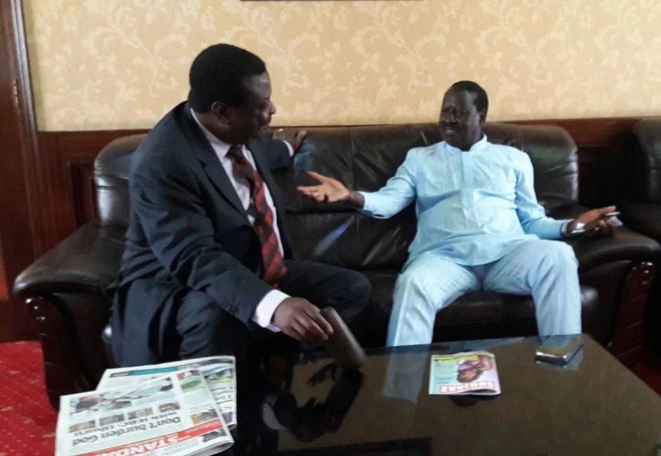 Mudavadi is willing to work with Raila Odinga again