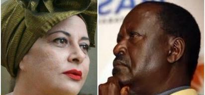Ex-presidential candidate Nazlin Umar labels Raila a liar after deal with Uhuru