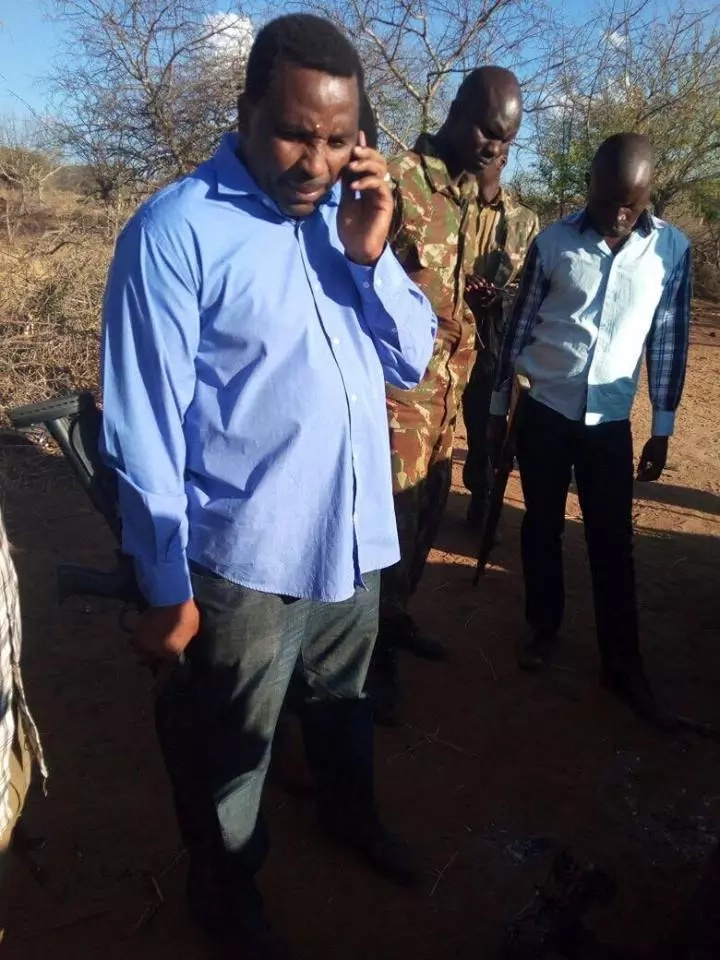 Jubilee MP attacks village
