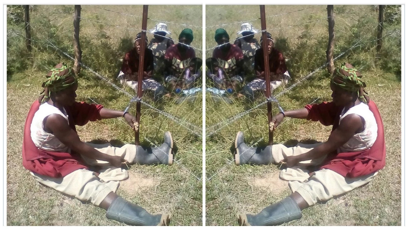 Woman handcuffed to FENCE by police for 7 HOURS for demonstrating against church (photo)