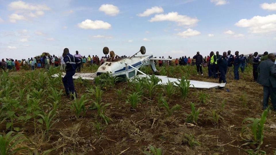 Two injured as plane crash in Ngong