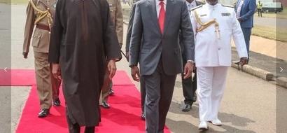 Live Updates: Nigerian President Muhammadu Buhari arrives in Kenya (Photos)