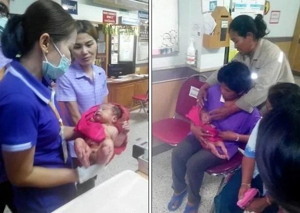 Bebé fue apuñalado catorce veces y enterrado con vida