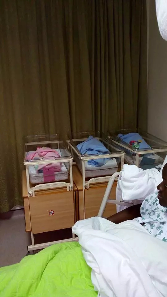 Mercy Masika's sister delivers triplets