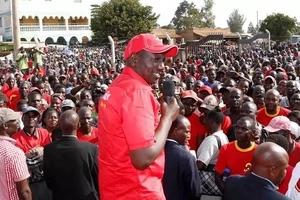 Naibu wa Rais William Ruto alipigiwa kelele Kericho? Huu hapa ukweli (Video)