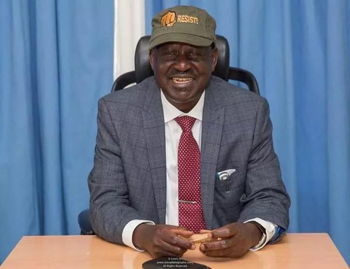 Raila unveils National Resistance Movement (NRM) official gear
