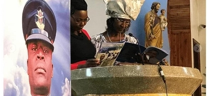 Your death feels like God used a big erase and cleaned the chalkboard of my dreams - Mum to Captain Apollo Malowa mourns