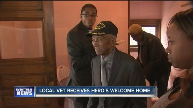 Police Tie A Veteran To A Stretcher And Kick Him Out Of His Home. Then The Neighbors Do THIS..