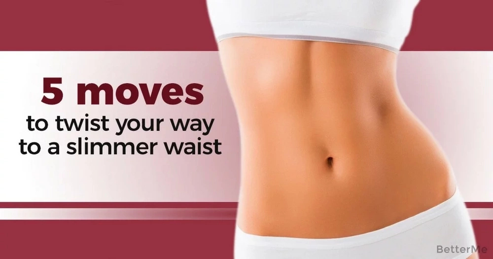 5 moves to twist your way to a slimmer waist