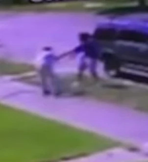 CCTV footage of thugs shooting a 71-year-old man in his yard