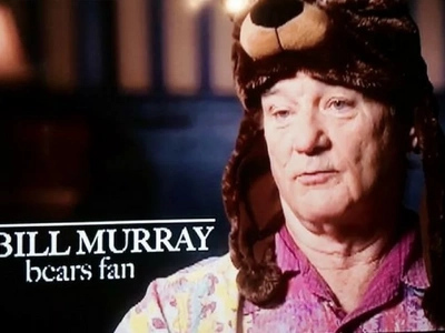 Bill Murray Reacting To Chicago Cubs Victory Is... Classic Bill Murray (Video)