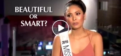 Maxine Medina takes the hot seat, gamely answers questions on a