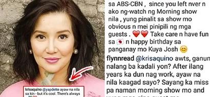 """Ayaw na nila sa akin..."": Kris Aquino's replied to netizens asking her to return to ABS-CBN"