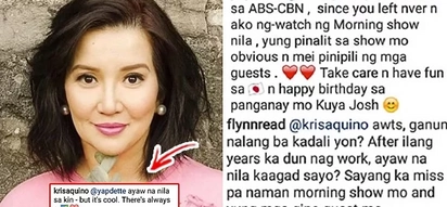 """Ayaw na nila sa akin..."": Kris Aquino's replied to netizens asking her to return to ABS-CBN"