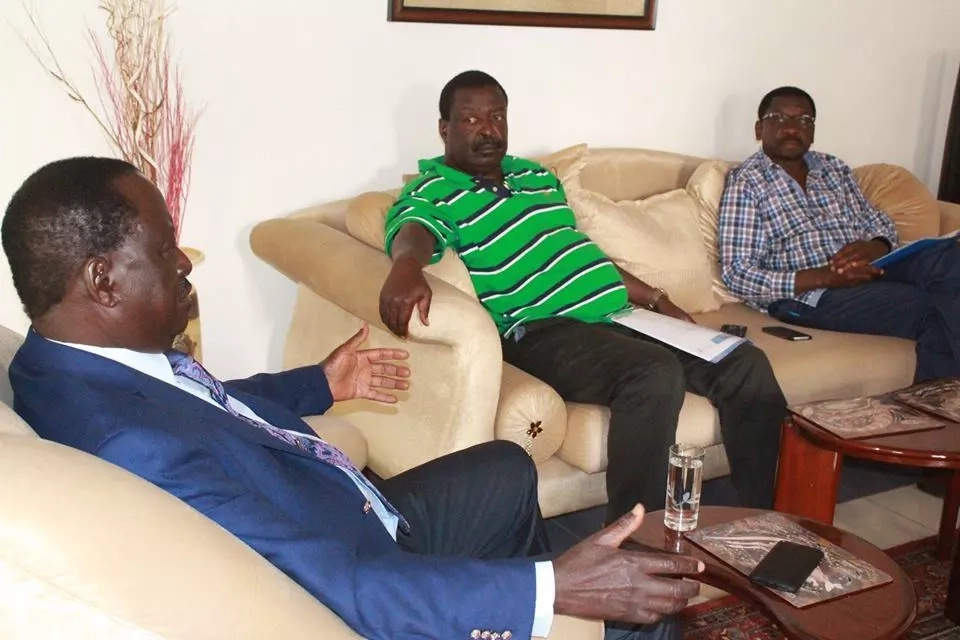 The meal that left Raila hospitalised