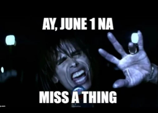 June 1 to miss a thing? Read this