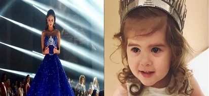 Pia Wurtzbach trains her adorable niece to be the next Miss U