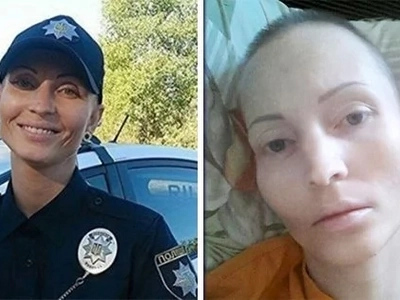 This cop died after being spat on her face by a suspect. The cause of her death left her family stunned ...