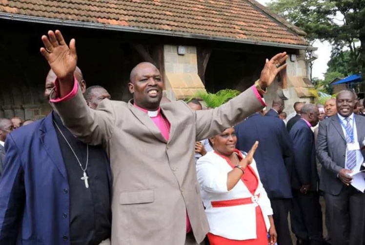 Bishop Jackson Ole Sapit elected Archbishop Eliud Wabukhala's successor