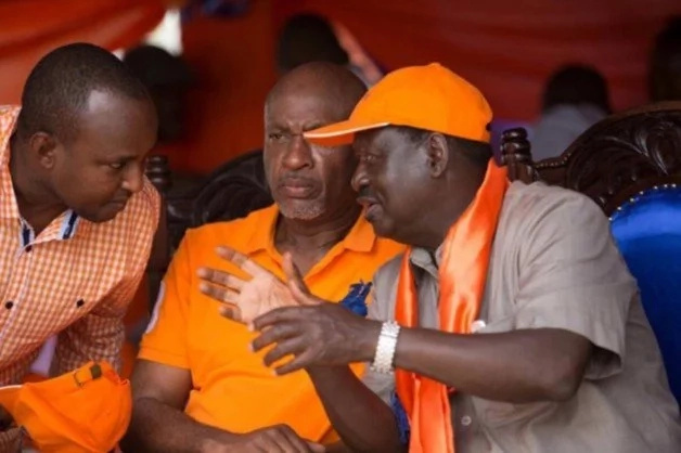 raila message of condolence