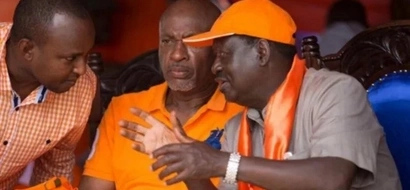 Raila Odinga mourns the unexpected death of key ODM Senator