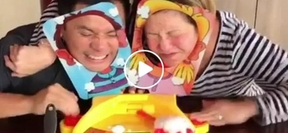 Ogie Alcasid, Regine Velasquez-Alcasid hilariously take on the Pie Face Challenge