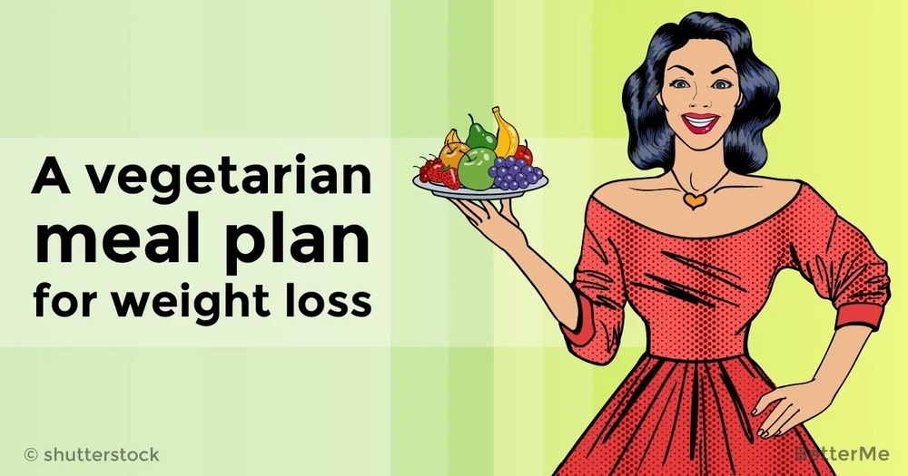 A vegetarian meal plan for weight loss