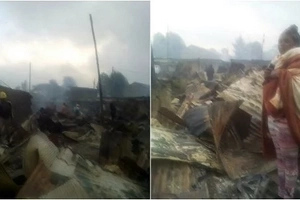 Night of horror: 10,000 Kenyans rendered homeless after a terrible fire ravaged Kuwinda slums (photos)