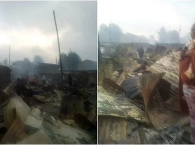 Tragedy: Terrible fire burns homes to 10,000 Nairobi residents in Karen