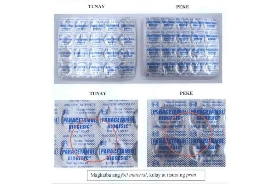 Huwag magpabiktima! FDA warns public against fake paracetamol
