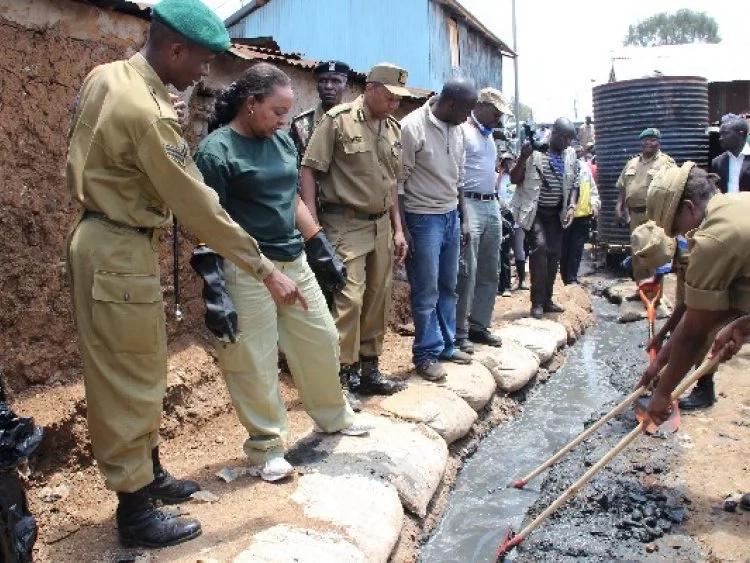 Vijana waliovalia sare za NYS wakamatwa wakisajili wapiga kura Nairobi (picha)