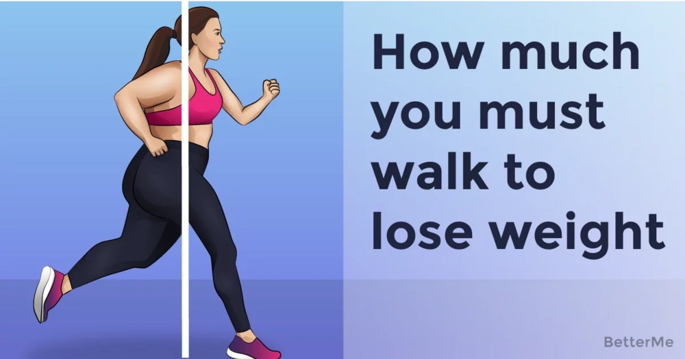 Here's how much you must walk to lose weight