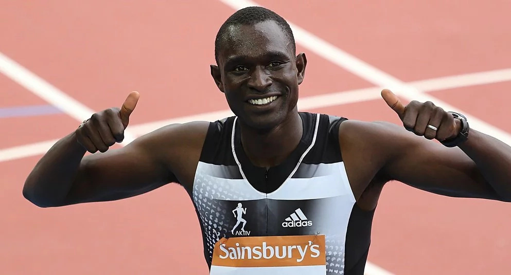 What David Rudisha's wife told him that made him win gold