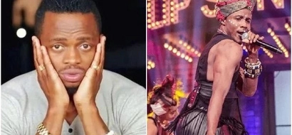 Here is how Ali Kiba looked after wearing A CUTE DRESS and hitting the stage(photos)